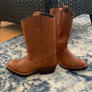 Genuine Leather Cowboy Boots - NWOT